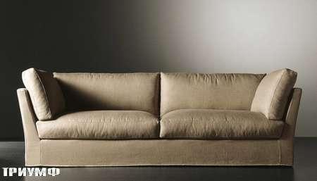 Итальянская мебель Meridiani - диван Quinn в ткани