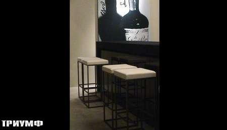 Итальянская мебель Meridiani - барные табуретки Hardy