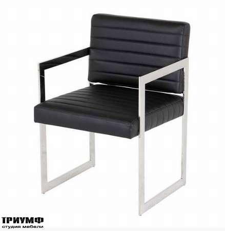 Голландская мебель Eichholtz - кресло office aspen