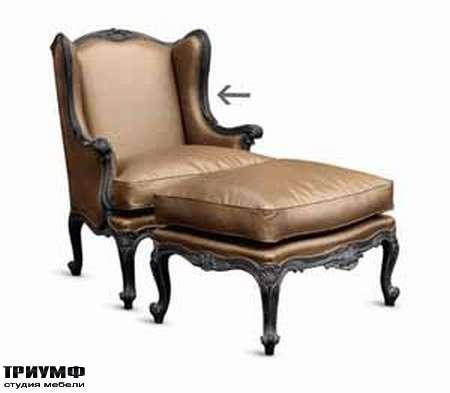 Итальянская мебель Chelini - Полукресло с банкеткой релакс
