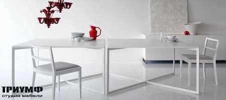 Итальянская мебель Olivieri - Стол квадратный Line