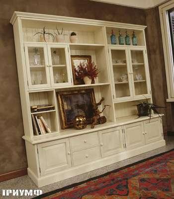 Итальянская мебель De Baggis - Шкаф-витрина В0206, В 0256
