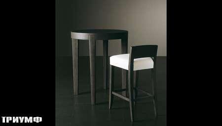 Итальянская мебель Meridiani - барный стол и стул Power