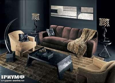 Итальянская мебель Smania - Диван и кресло Kelly