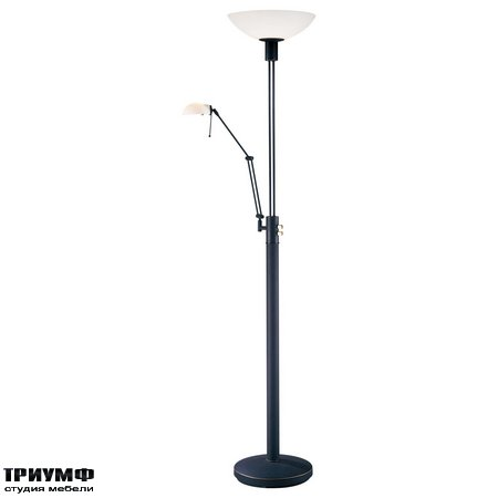 Американская мебель George Kovacs - Floor Lamp with Reading Lamp