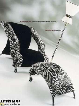 Итальянская мебель Formitalia - Кресло-лежанка с пуфом Bambi