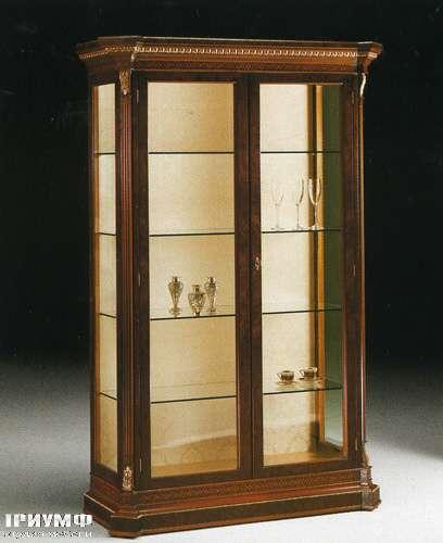 Итальянская мебель Citterio Fratelli - Витрина Capitelio 2 дверная