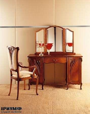 Итальянская мебель Medea - Столик туалетный арт. 926, стул арт. 139