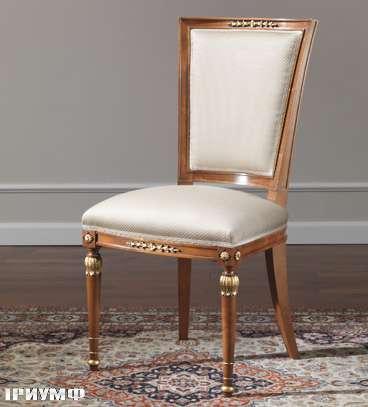 Итальянская мебель Colombo Mobili - Стул арт. 267. S кол. Corelli вишня мягкая спинка