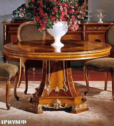 Итальянская мебель Colombo Mobili - Обеденный стол арт. 502.1.140 кол. Cherubini