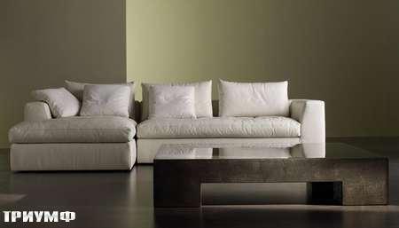 Итальянская мебель Meridiani - диван lewis small