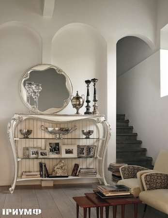 Итальянская мебель Volpi - библиотека Tea