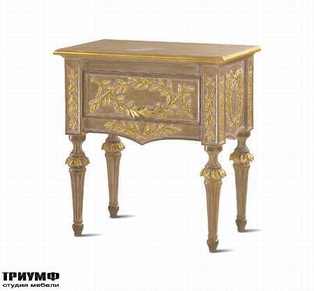 Итальянская мебель Chelini - Тумба для спальни, классика