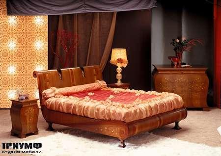 Итальянская мебель Carpanelli Spa - Кровать Le volute LE02