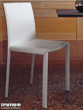 Итальянская мебель Olivieri - Стул Jolly в коже