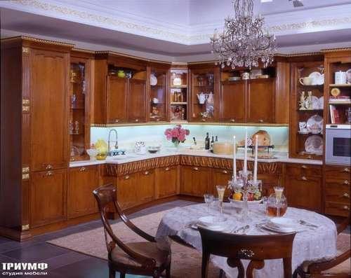 Итальянская мебель Arca - Кухня Prestige орех Италия