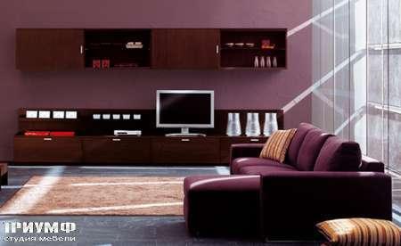 Итальянская мебель Pianca - Стенка, композиция Spazio