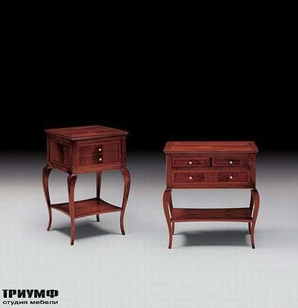 Итальянская мебель Medea - Тумба с ящиками и закруглёнными ножками