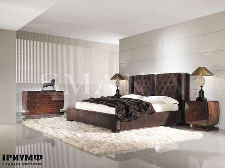 Итальянская мебель Smania - Кровать Alfonso