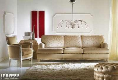Итальянская мебель Zanaboni - Диван классический изящный Miro