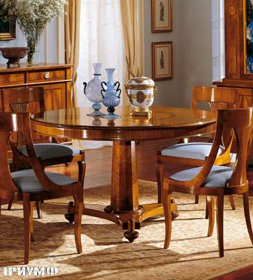 Итальянская мебель Colombo Mobili - Обеденный стол арт.259.2 кол. Verdi
