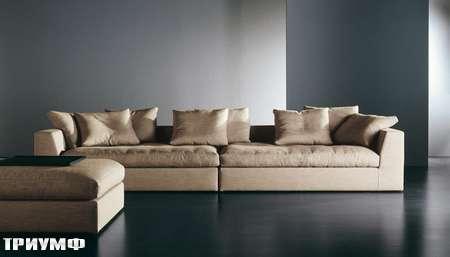 Итальянская мебель Meridiani - диван наборный Lewis plus