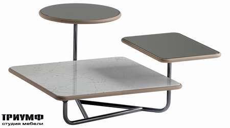 Итальянская мебель Poltrona Frau - стол Trois