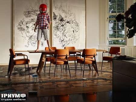 Швейцарская  мебель Vitra  - dining