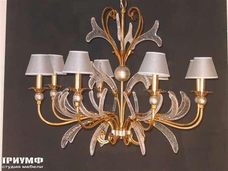Освещение Eurolampart - Люстра на 6 рожков, из металла и стекла, арт. 2394-08LA