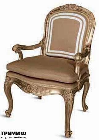 Итальянская мебель Chelini - Полукресло для кабинета