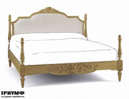 Итальянская мебель Chelini - Кровать классика без решётки