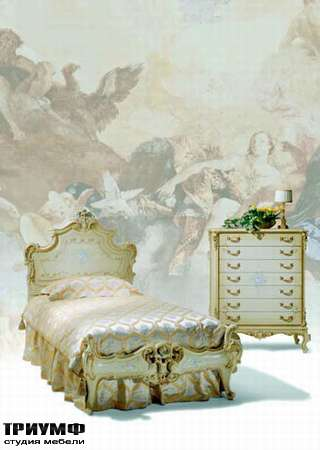 Итальянская мебель Silik - Кровать Calipso