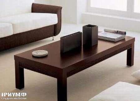 Итальянская мебель Rattan Wood - Столик Millenium