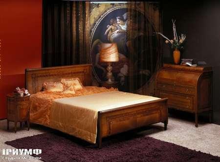 Итальянская мебель Carpanelli Spa - Кровать Renoir L304