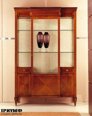 Итальянская мебель Medea - Витрина с распашной дверью и ящиками, классика