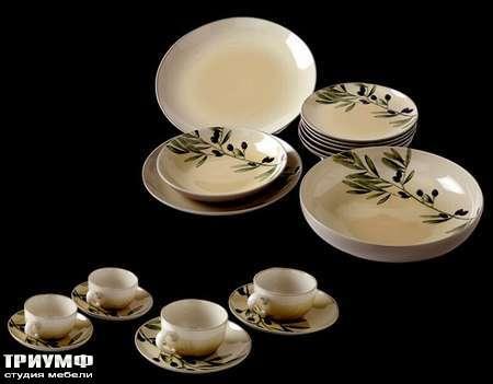 Итальянская мебель Cantori - сервиз Olive