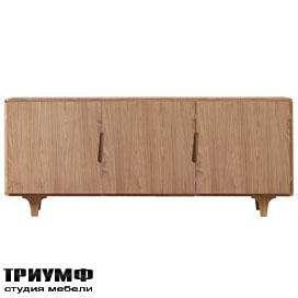 Итальянская мебель Morelato - Греденция в светлом дереве Malibu