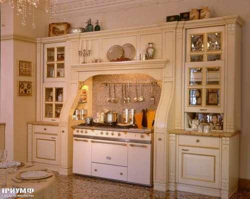 Итальянская мебель Arca - Кухня Victoria Bianco Antico