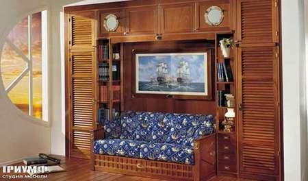 Итальянская мебель Caroti - Диванчик в морском стиле