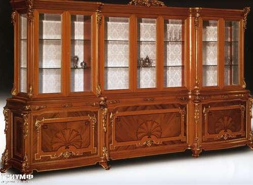 Итальянская мебель Citterio Fratelli - Витрина-стенка Master 7 дверная