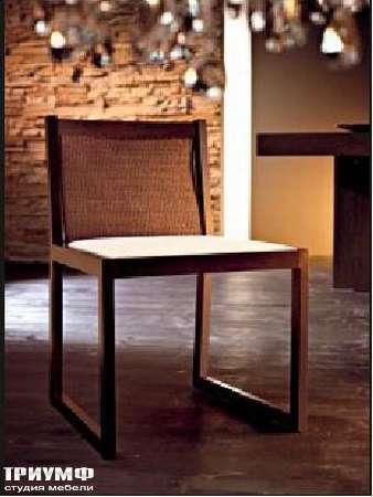 Итальянская мебель Rattan Wood - Стул Alea