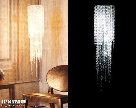 Итальянская мебель Longhi - Торшер Morgana, светильник Camilla
