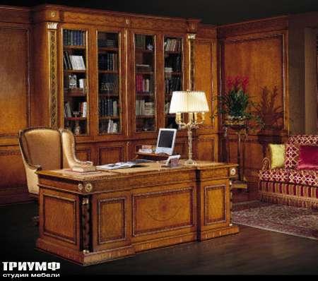Итальянская мебель Ezio Bellotti - Стол письменный с инкрустацией