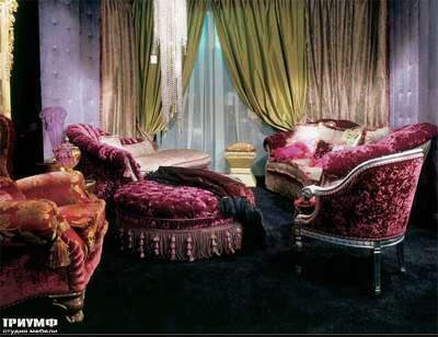 Итальянская мебель Zanaboni - Мягкая мебель Pantheon и пуф Luna
