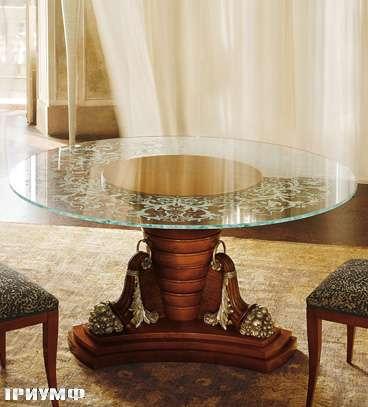 Итальянская мебель Colombo Mobili - Обеденный стол арт.390.150 кол. Moricone