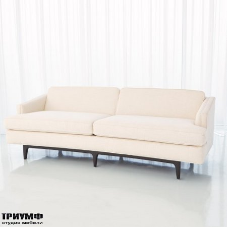 Американская мебель Globalviews - Crescent Sofa Avada Ivory