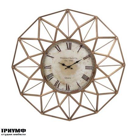 Американская мебель Imax - Banyan Wall Clock