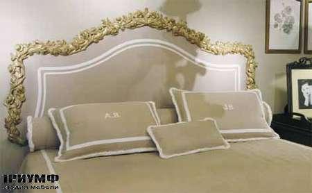 Итальянская мебель Chelini - Изголовье кровать, цветочный орнамент арт.1199