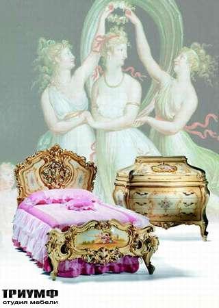 Итальянская мебель Silik - Кровать Selene