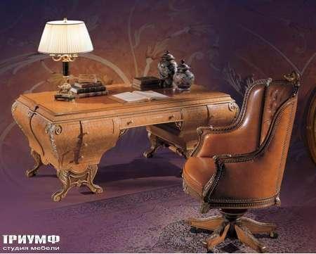 Итальянская мебель Ezio Bellotti - Стол письменный в дереве